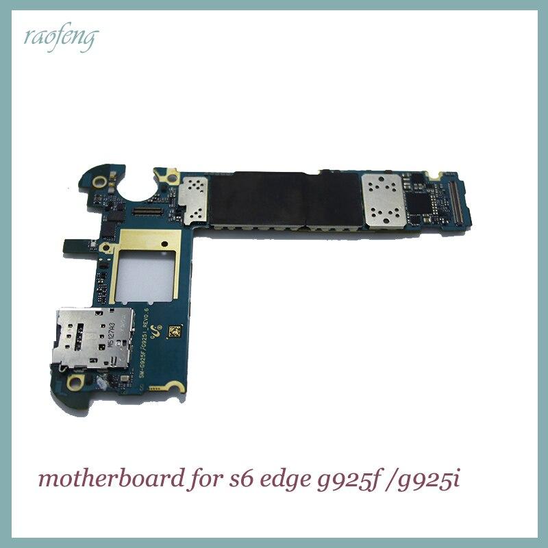 Raofeng хорошо работать материнская плата для Samsung S6 Edge G925F/g925i разблокирован с Android функции материнской платы с чипами Плата логики