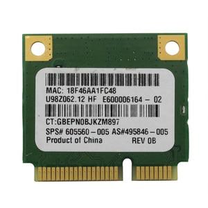 Image 2 - Atheros AR5B95 ไร้สาย WIFI WLAN การ์ดสำหรับ HP G42 CQ42 G62 CQ62 605560 005 PCI E