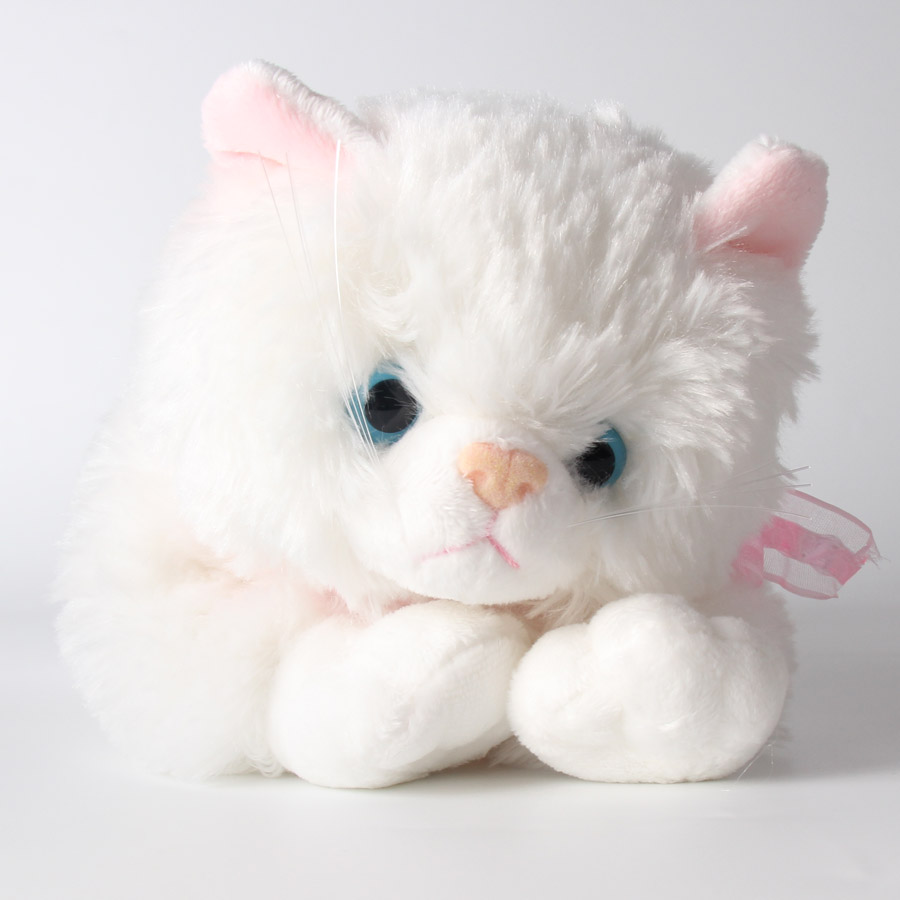 1pc Plush Doll Soft White Cat Stuffed Dolls Toy Brinquedos Christmas