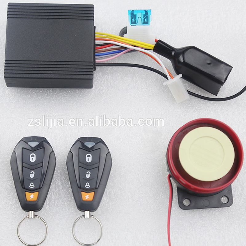 Alarm Motorcycle Anti-hijacking Waterproof Security Alarm/one Way Motorcycle Alarm System 12V NTO Factory