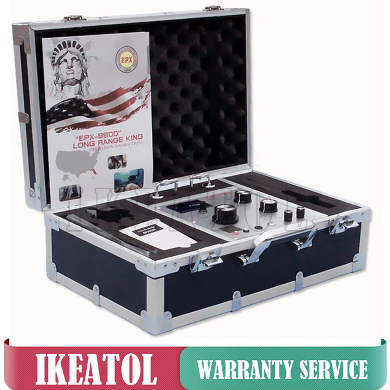 купить EPX9900 Metal Detectors Underground Deep Long Range Gold EPX-9900 Max 50M Detect Gold Diamond tin Lead Copper Silver,P.G Finder по цене 40978.69 рублей