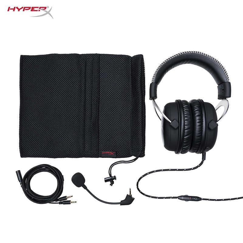 HyperX chmura rdzeń gier w chmurze zestaw słuchawkowy i HyperX Cloud wirtualnego dźwięku przestrzennego 7.1 karta dźwiękowa USB sprzedawane oddzielnie