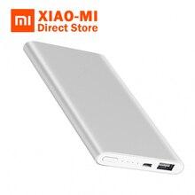 Original Xiaomi Mi 5000mAh Power Bank 2 Portable Charger Slim 5000mAh PowerBank External Battery Pack for iPhone Samsung Huawei