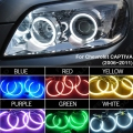 Car 6-Color Headlight CCFL Angel Eyes Halo Rings Kits For Chevrolet CAPTIVA(2006-2011) #J-3272
