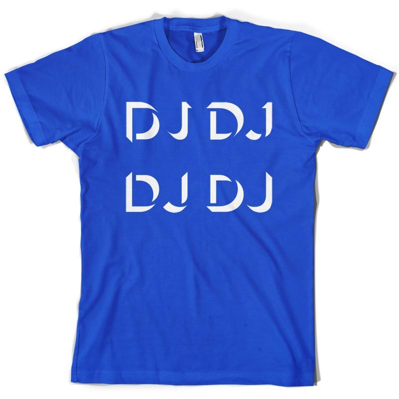 DJ Mens T Shirt Disc Jockey Free UK Delivery Sleeve Hot Print T Shirt Mens Short Sleeve Hot Tops in T Shirts from Men 39 s Clothing
