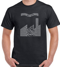 Joy Division Factory Records Mash Up Mens T-Shirt FAC51 Unknown Pleasures CD New  Tops Tee Unisex Funny freeshipping