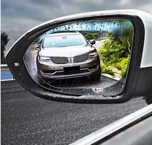 Car Rearview Mirror Waterproof Film Rainproof Nano Antifoggin