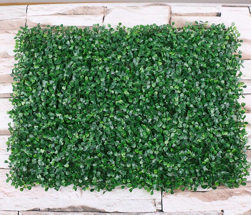 Wedding Flower Wall Artificial Boxwood Foliage Hedge Wall