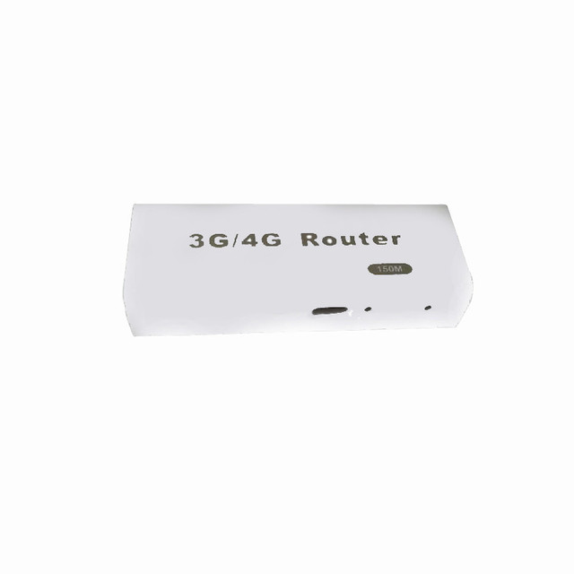 Beautiful Gift New  Mini 3G/4G WiFi Wlan Hotspot AP Client 150Mbps RJ45 USB Wireless Router  Wholesale price Jun21