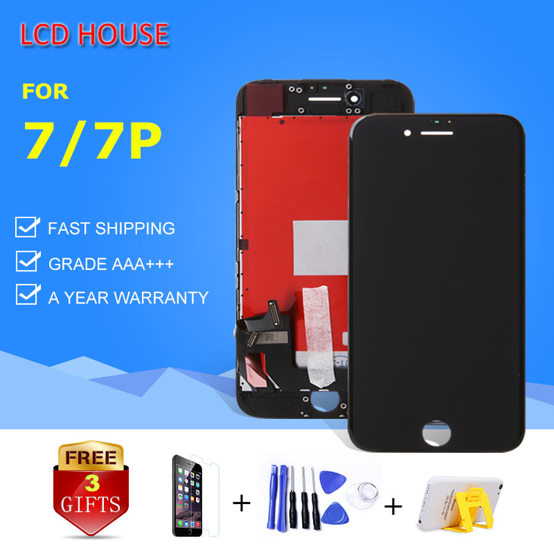 10PCS Grade AAA For iPhone 7G 7 Plus LCD Display Module 3D Touch Digitizer Assembly Replacement