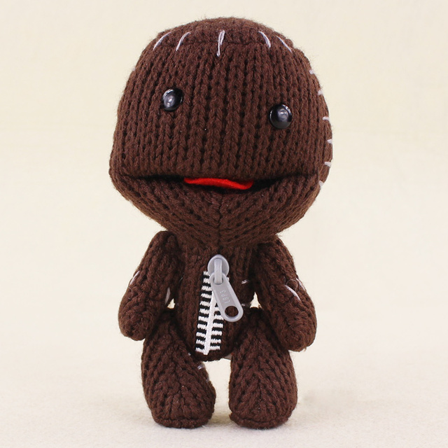 Cm Plushie a 16 Little maglia Big Planet lavorato Cute Sackboy CQrhdxBts
