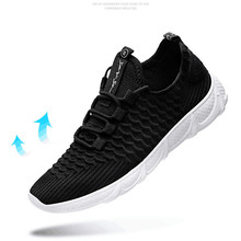 2019 fly woven breathable scales mesh fashion casual running shoes