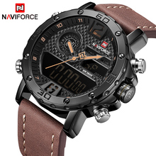 Mens Watches To Brand Luxury NAVIFORCE Men Sports Watches Waterproof LED Digital Quartz Men s Military