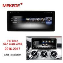 Новое прибытие! 3 GB + 32 ГБ android7.1 стерео головное устройство навигации gps Навигация DVD плеер для Benz gla класса X156 2016 до 2017