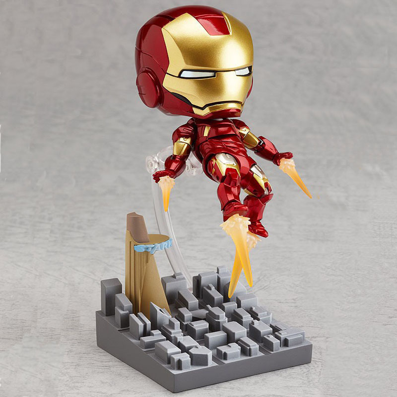 Homem de Ferro Estranho Brinquedos Aranha 8 Pçs/set