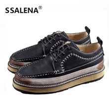 Men Classic Comfortable Casual Shoes Mens Vintage Distressed Quality Leisure Shoes Men Breathable Oxford Shoes AA51716