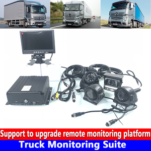 Truck Monitoring system loop video playback local Truck Monitoring Suite AHD 720 p hd video channel synchronization