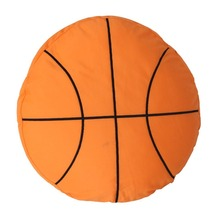 Basketball Pillow Fluffy Plush Stuffed Ball Throw Soft Durable Sports Toy Gift for Kids Room Decoration Summer Style