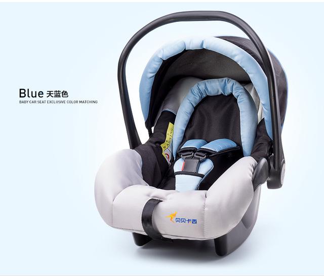Tipo cesta bebê assento de segurança para crianças de carro 0-13 KG assento de segurança do carro de bebê recém-nascido com o CCC ECE certificação