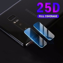 2PCS 25D Camera Lens Glass For Samsung Galaxy S8 S9 Plus Protective Tempered Glas Screen Sumsung J4 J6 J8 J7 A8 2018 Film
