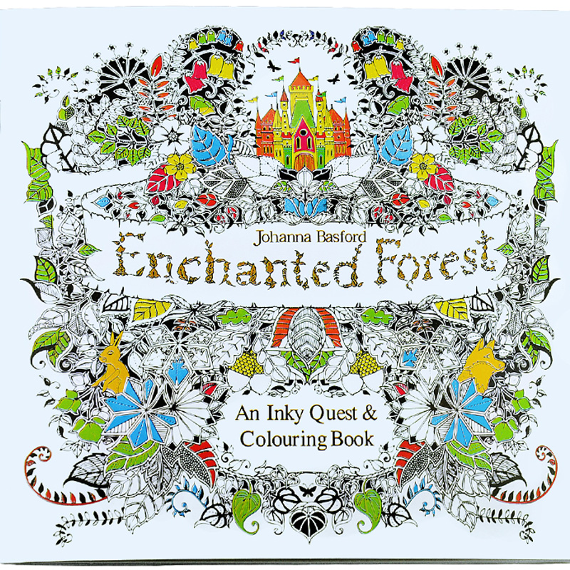 Aliexpress Buy 24 Pages Enchanted Forest Secret