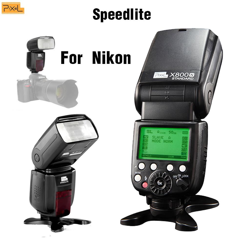 Здесь продается  Pixel X800N Std For Nikon D750 D850 D810 D7200 D5300 D7100 D610 ITTL High Speed Sync Hot shoe Speedlite Flash Wireless Flash  Бытовая электроника