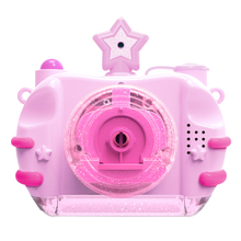 Buy Children Bubble Camera Blowing Bubble Toys Lighting Music Electric Camera Automatic Bubble Machine Indoor Outdoor Parties Toy directly from merchant!
