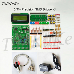 Image 3 - XJW01 LCR digital bridge tester  ESR Kit