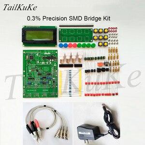Image 3 - XJW01 LCR testeur de pont numérique Kit ESR
