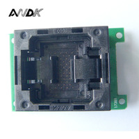LGA60 TO DIP48 Flash Programmer Adapter Open Top Structure IC Test Socket LGA60 Burn In Socket
