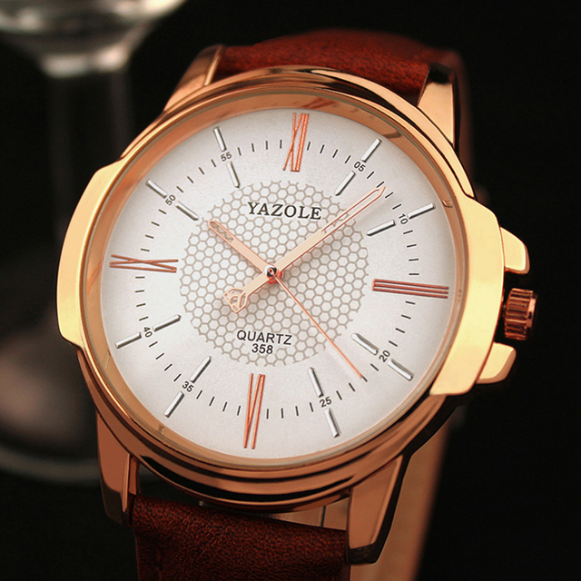 Yazole Brand Luxury Famous Men Watches Business Men's Watch Male Clock Fashion Quartz Watch Relogio Masculino reloj hombre 2018