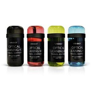 Image 5 - VSGO Kit de limpieza de lente Portable y cámara, traje de viaje para Nikon, Canon, Sony, Fujifilm, limpieza de cámara Digital