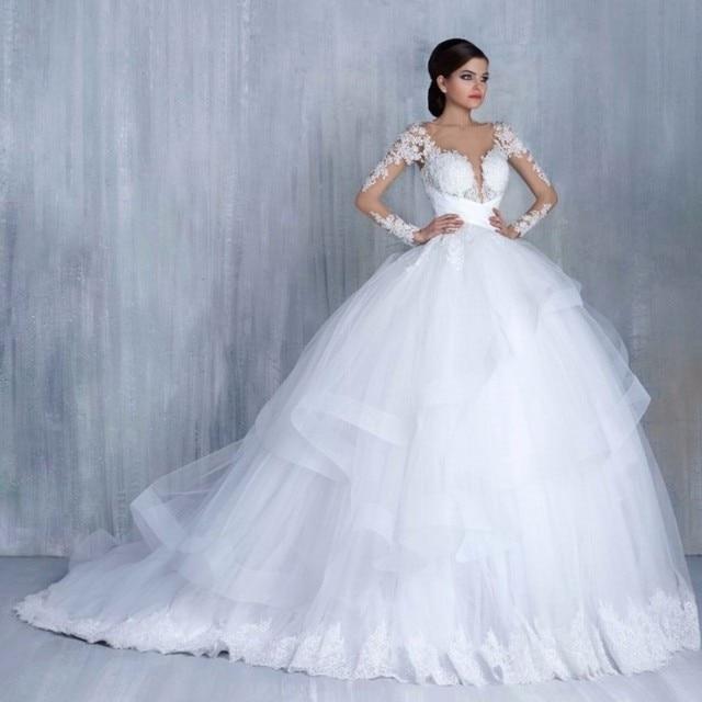 Hochzeit Kleid Saudi arabien prinzessin Ballkleid Bodenlangen ...