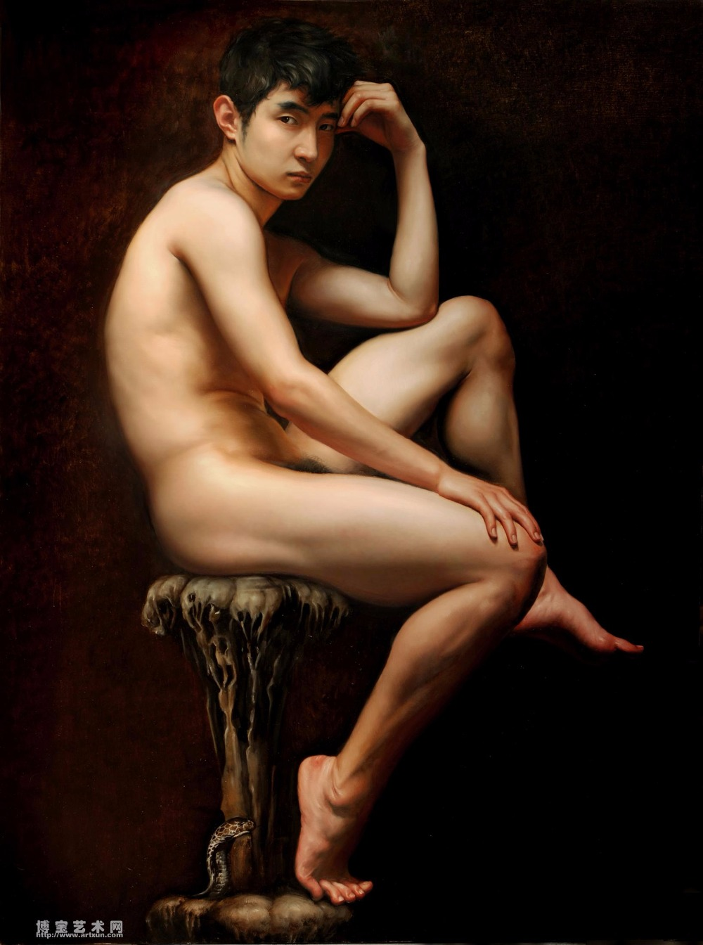 Art Naked Teen