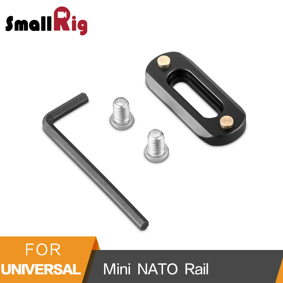 SmallRig Mini ( 6mm Thin ) Camera Quick Release NATO Rail (48mm) To Mount NATO Clamps - 2172