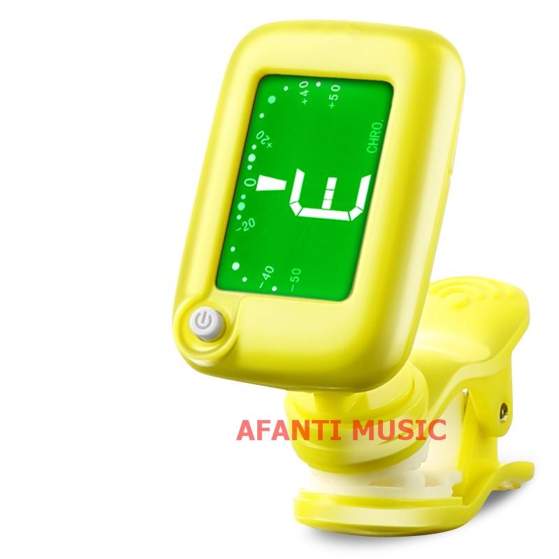 Afanti Music Violin / Acoustic Guitar / Ukulele Tuner (TUN-103)