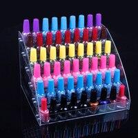 Groothandel Acryl Clear View Geassembleerd Cosmetica Nagellak Lippenstift Opslag Orgonizer Display Standhouder 6 Lagen Nieuwe