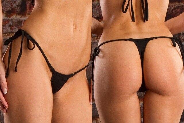 a33127531b1 Sexy Plus Size 7 Colors Thong Separates Swimsuit 2019 Women Swimwear  Bandage Bathing Suit Brazilian Tanga