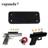 Vapanda Hunting Holster Rubber Coated Gun Magnet Holster 35LB Magnetic Holder Mount For Car Bedside Door