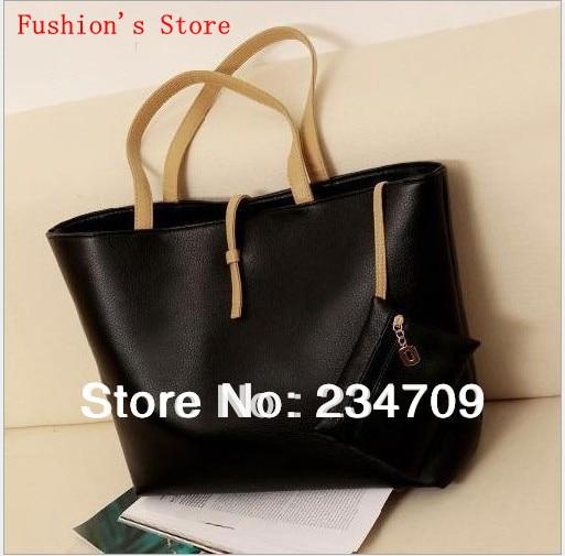 Free shipping,new 2014 leisure European style solid color women messenger bags/women leather handbags/women handbag,1 pcs/lot