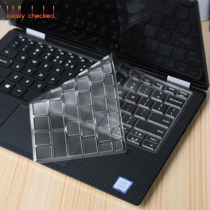 "Laptop Carbon fiber Vinyl Skin Sticker Cover For 2017 Dell XPS 13 9365 13.3/"""