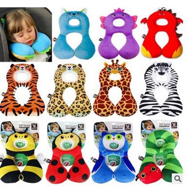 New Cute Benbat Travel Friends 1-4 years Child Neck Pillow U-shaped Travel pillow Kids Car seat Cushion Total Support Headrest