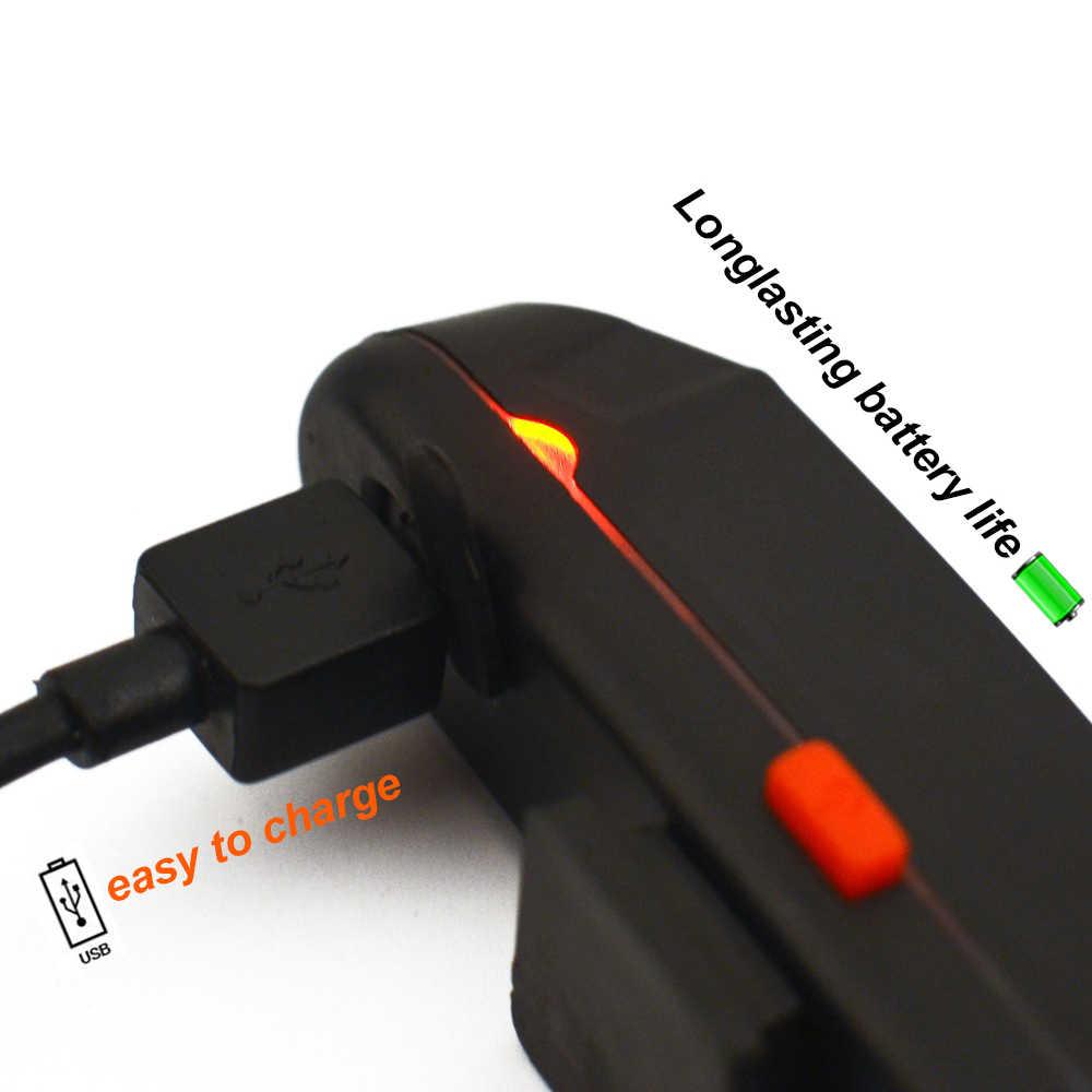 ZTTO עמיד למים MTB Moutain כביש אופני אופניים רכיבה על אופניים אחורי USB נטענת בטוח 30 LED 100 לומן אור טאיליט WR01