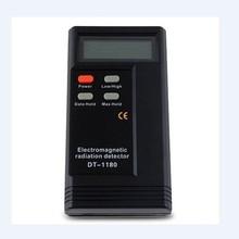 Detector de radiación electromagnética LCD de 2,3 pulgadas, alta/baja frecuencia, detección de DT-1180 en interiores, TV, PC, teléfono móvil, Monitor de electrónica