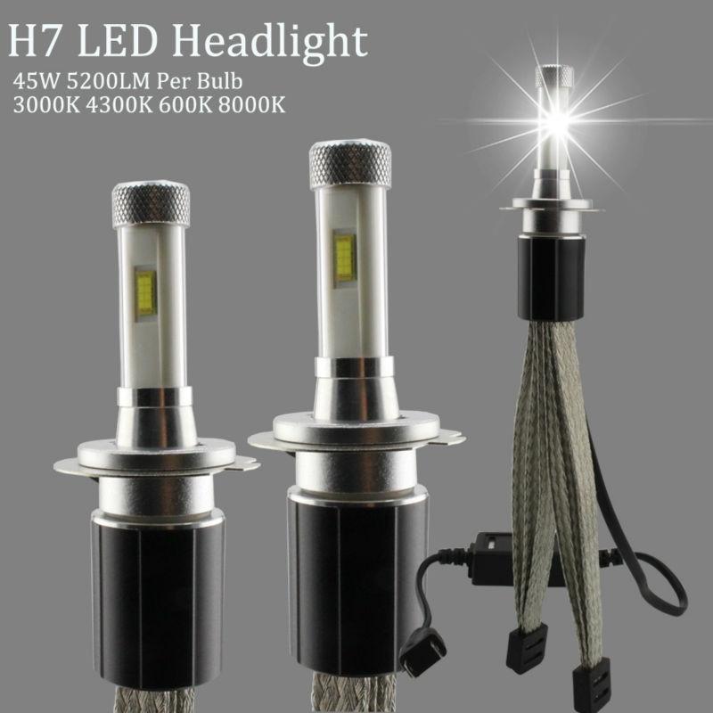 R4S LED H7 Headlights 4300K 3000K 6000K 8000K Car Headlight Bulbs 30W TX Automotive Customized Chip 4800LM Headlamp Fog Light 2pcs car led headlight h7 30w 3000lm high brightness rgb car headlights bulb 6000k super heat dissipation car headlamp bulbs