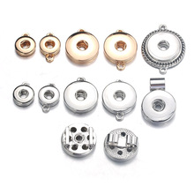 10pcs/lot Interchangeable DIY Charm Snap Buttons 18mm/12mm Snap Jewelry Finding For Make Snap Button Bracelets Necklace 2318 20pcs 50pcs lot kcd4 31 25mm 4pin 16a 250v snap in dpst on off position snap boat rocker switch copper feet