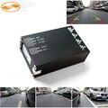 GreenYi 4-полосная Монитор Видео Переключатель Управления Combiner Box для 360 градусов Левый Правый Вид Спереди Заднего Парковка Поддержка 4 камеры