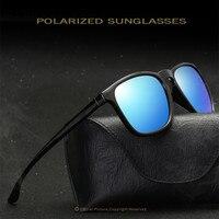 PANDDOG 2018 Óculos De Sol Dos Homens Full Frame óculos de Lentes Polarizadas óculos de Sol Óculos de Viagem de Alta Qualidade Multicolor Com Caso E Pano WD1916