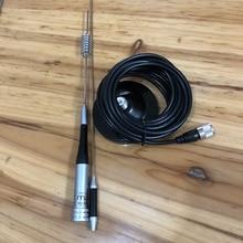 Çift bant SG M507 anten 11cm enayi araç tutucu anten cep telsiz el bagaj mobil radyo anteni