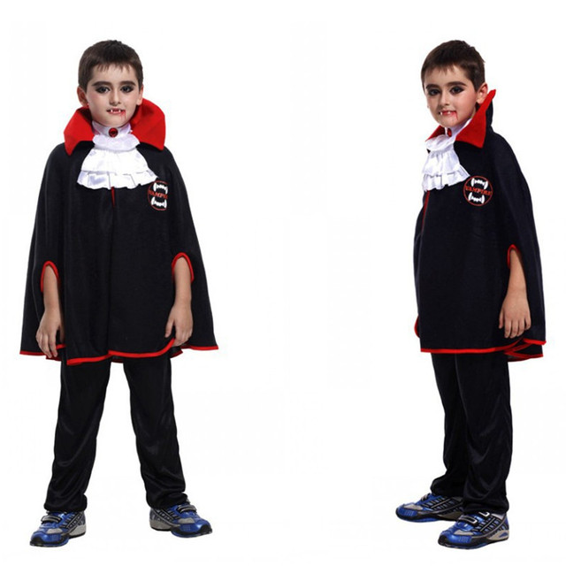 Boys Kids V&ire Costume Children Halloween Devil Cosplay April Fool u0027s Day tricky props Masquerade  sc 1 st  AliExpress.com & Boys Kids Vampire Costume Children Halloween Devil Cosplay April ...